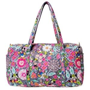 Disney Vera Bradley Mickey and Friends Duffle